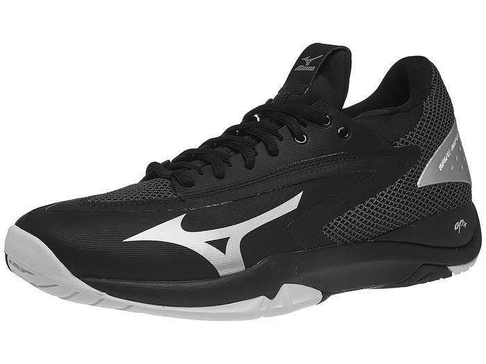 new concept fecf1 dcf54 Mizuno Wave Impulse AC Black/Silver/White Men's Shoes ...