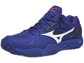 new product bf783 ce6b4 Mizuno Wave Intense Tour 5 Clay Blue Men s Shoes - Tennis Warehouse Europe