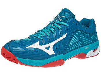 best authentic 32352 350d1 Mizuno Wave Exceed 2 AC Blue Red Men s Shoes
