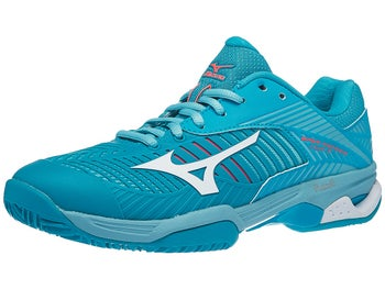 separation shoes 60057 bac12 Scarpe Mizuno Wave Exceed Tour 3 Clay Blue Donna - Tennis ...