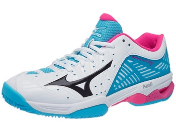 newest 3b7f6 7d68b Mizuno Wave Exceed 2 CLAY Wh Bk Bl Women s Shoes - Tennis Warehouse Europe