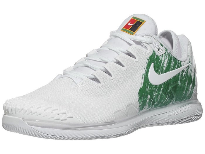 cerrar Envío a la deriva  Nike Air Zoom Vapor X Knit White/Green Men's Shoe - Tennis Warehouse Europe