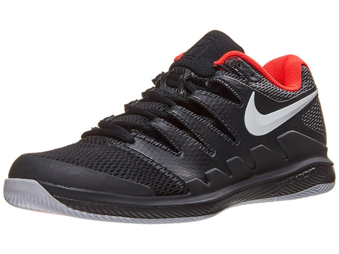 look for 50% off wholesale outlet Chaussures Homme Nike Air Zoom Vapor X Noir/Cramoisi - Tennis ...