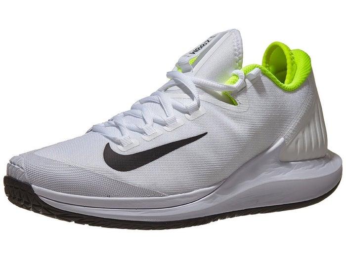 Anillo duro Ten cuidado Cielo  Zapatillas Hombre Nike Air Zoom Zero Blanco/Negro/Amarillo fosforito -  Tennis Warehouse Europe