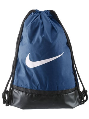 d3be02f756c0 Nike Brasilia Gym Sack Bag Navy - Tennis Warehouse Europe