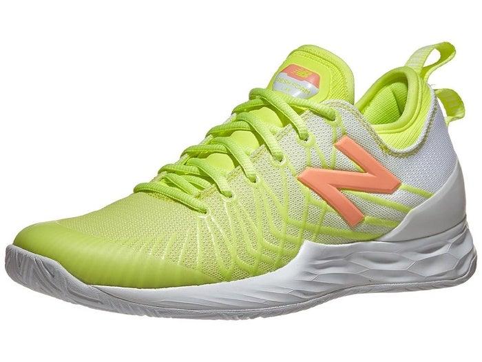 puntada antecedentes Araña de tela en embudo  New Balance Lav Neon Yellow/White Women's Shoe - Tennis Warehouse Europe