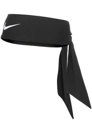 Nike Dri-Fit Head Tie 3.0 Black - Tennis Warehouse Europe 4cdfe76bfcc