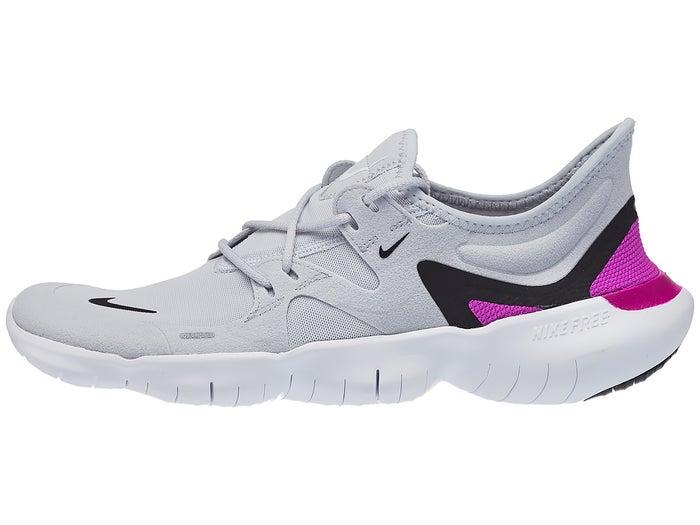 scarpe casual varietà di disegni e colori bello e affascinante Nike Free RN 5.0 Men's Shoes Platinum/Violet - Tennis Warehouse Europe