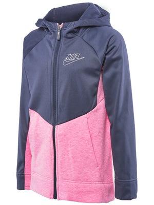 73417ef3fb Veste à Capuche Fille Nike SW Cotton Full Zip Automne - Tennis Warehouse  Europe