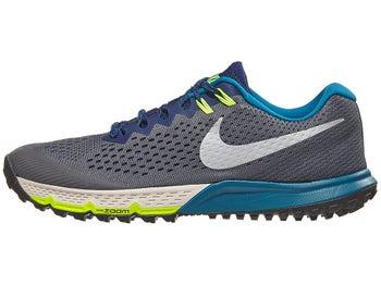 best service efc13 2b026 Chaussures Homme Nike Zoom Terra Kiger 4 Gris Foncé Bleu Void - Tennis  Warehouse Europe