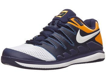 feeca48b2 Zapatillas Nike Júnior Air Zoom Vapor 10 Azul Marino Naranja - Tennis  Warehouse Europe
