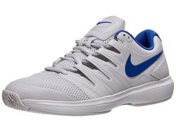 7d25a0ea03 Nike Air Zoom Prestige Grey/Blue Junior Shoe - Tennis Warehouse Europe