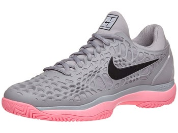 bf2be53a6f61ad Nike Air Zoom Cage 3 Grey Pink Men s Shoe - Tennis Warehouse Europe