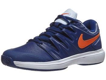 meet c5da4 7048c Chaussures Homme Nike Air Zoom Prestige Cuir Bleu Orange