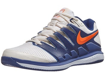 newest 0ac99 1341b Nike Air Zoom Vapor 10 Herren Tennisschuh BlauGrauOrange