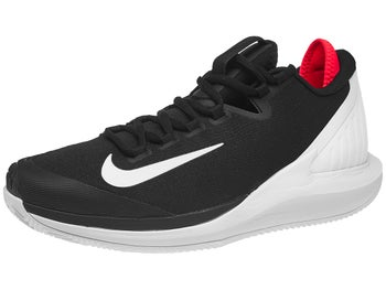 27627bce098 Scarpe Nike Air Zoom Zero Clay Black Crimson Uomo - Tennis Warehouse Europe