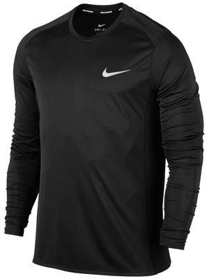 b2c0d9eb18 Camiseta Manga Larga Hombre Nike Basic Dry Miler - Tennis Warehouse ...