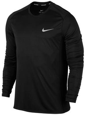 5a96b01cfb Camiseta Manga Larga Hombre Nike Miler - Tennis Warehouse Europe