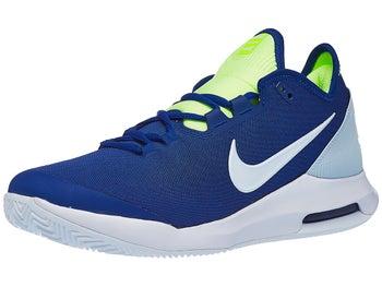 76065666788 Nike Air Max Wildcard Clay Indigo/Volt Men's Shoe - Tennis Warehouse Europe