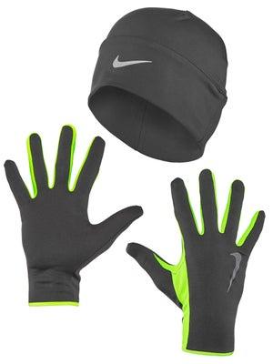 Nike Men s Running Dri-Fit Beanie Glove Set - Tennis Warehouse Europe 3df78cf25a4
