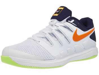 competitive price 3d405 096ae Chaussures Homme Nike Air Zoom Vapor X Moquette Blanc Orange - Tennis  Warehouse Europe