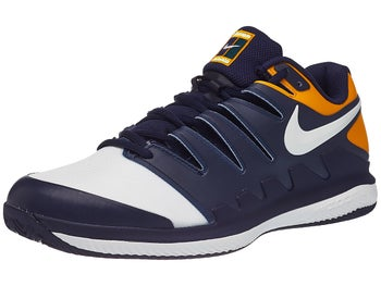 detailed look 7a316 97fe2 Nike Air Zoom Vapor X Clay NavyOrange Mens Shoe - Tennis Warehouse Europe
