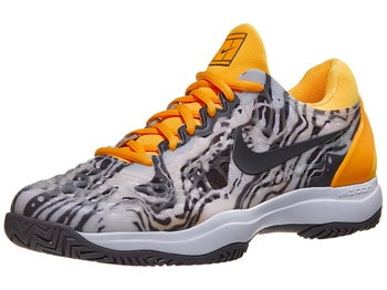 buy cheap 145b5 0a028 Chaussures Homme Nike Air Zoom Cage 3 Gris Jaune - Tennis Warehouse Europe