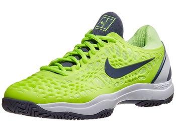 7495c8d82 Nike Air Zoom Cage 3 Volt/White Men's Shoe - Tennis Warehouse Europe
