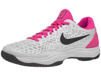 brand new d1bc4 2d39a Chaussures Homme Nike Air Zoom Cage 3 Blanc Fuchsia - Tennis Warehouse  Europe