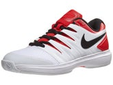 the best attitude cea4c 725f4 Chaussures Homme Nike Air Zoom Prestige Blanc Rouge
