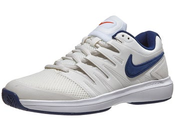 Nike Air Zoom Prestige White Beige Blue Men s Shoe - Tennis ... f73b9b777