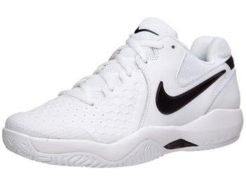 size 40 9cf1d c2bba Nike Air Zoom Resistance White/Black Men's Shoe - Tennis Warehouse ...