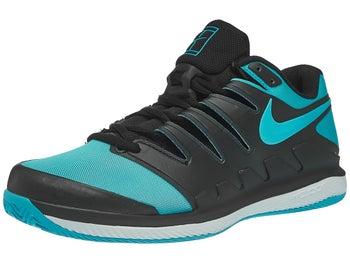 97711164d4f Nike Air Zoom Vapor X Clay Black Blue Men s Shoe - Tennis Warehouse ...