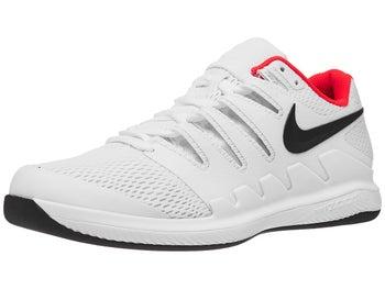 dcbaa598ad Nike Air Zoom Vapor X Carpet White/Black/Rd Men's Shoe - Tennis ...