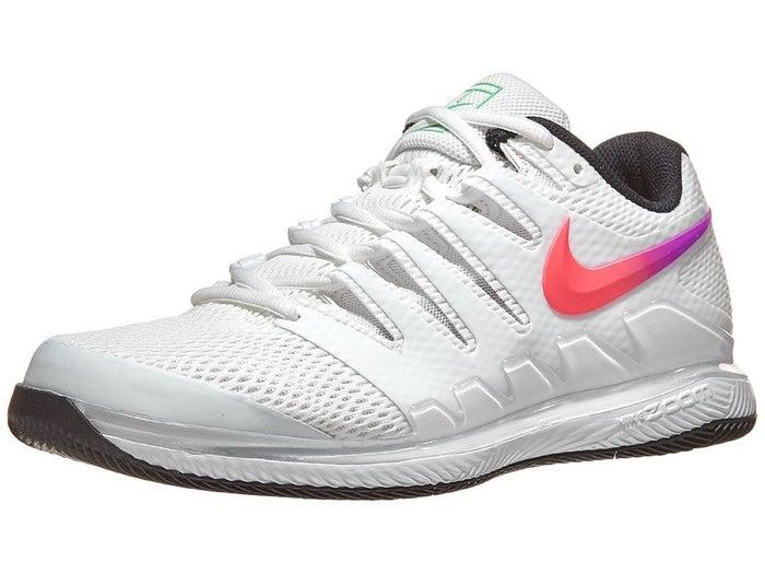 novia hacer los deberes kiwi  Zapatillas Hombre Nike Air Zoom Vapor X Blanco/Negro/Verde - Tennis  Warehouse Europe