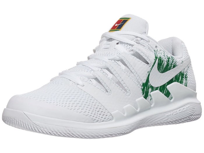 Concurso jugo traicionar  Zapatillas Hombre Nike Air Zoom Vapor X Blanco/Verde - Tennis Warehouse  Europe