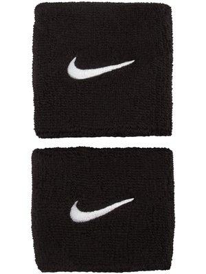 buy popular 7fecf 998a6 Nike Swoosh Wristbands Black
