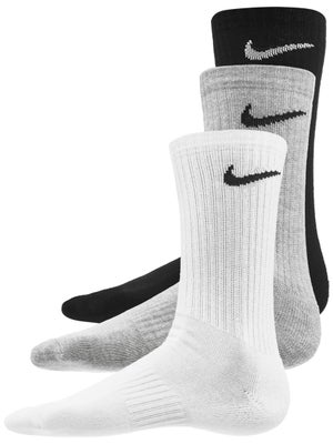 ab9f0d460280f4 Nike Everyday Cushion Crew 3-Pack Multi Socks - Tennis Warehouse Europe