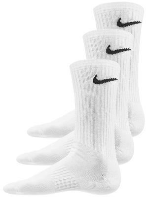 promo code ec47c 76394 Nike Everyday Cushion Crew Socken 3er-Pack Weiß - Tennis Warehouse Europe