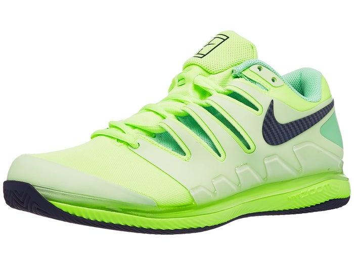 miel Desconocido Bombardeo  Zapatillas Hombre Nike Air Zoom Vapor X Verde/Negro/Amarillo fosforito  TIERRA BATIDA - Tennis Warehouse Europe