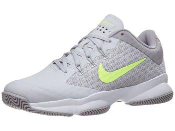 127919708e32b Nike Air Zoom Ultra Grey White Green Women s Shoe - Tennis Warehouse ...