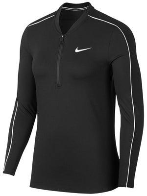 e1b4ae6bb551e3 Nike Women s Basic 1 2 Long Sleeve Top - Tennis Warehouse Europe
