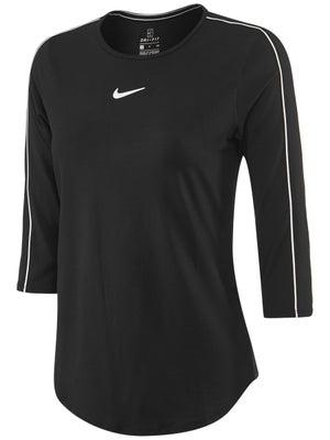 d4bb0a27 Nike Women's Basic 3/4 Sleeve Top - Tennis Warehouse Europe