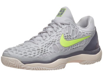 promo code 0ee03 29f39 Chaussures Femme Nike Air Zoom Cage 3 Gris Noir Vert - Tennis Warehouse  Europe
