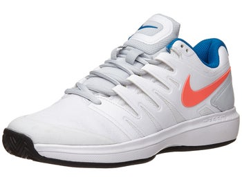 aac6e03a11d8c Nike Air Zoom Prestige Clay White Red Women s Shoe - Tennis ...