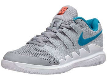 uk availability 730da 9c4e9 Nike Air Zoom Vapor X GreyBlueWhite Womens Shoe