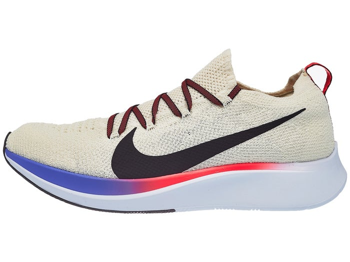 code promo 6cba6 f8713 Chaussures Homme Nike Zoom Fly Flyknit Crème clair/Cramoisi ...