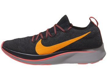 2bf9f3543ec4 Nike Zoom Fly Flyknit Womens Shoes Black Crimson Orange - Tennis Warehouse  Europe