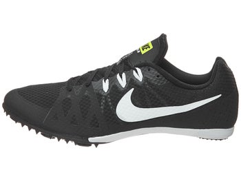 half off ccf5c ba4d0 Nike Zoom Rival MD 8 Spikes Unisex Black White - Tennis Warehouse Europe