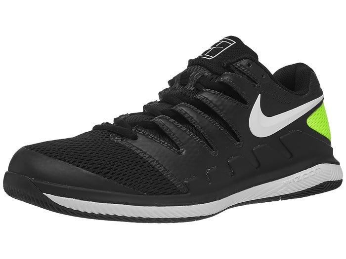 Portare fuori brutto Tutto il tempo  Nike Air Zoom Vapor X Black/White/Volt Men's Shoe - Tennis Warehouse Europe